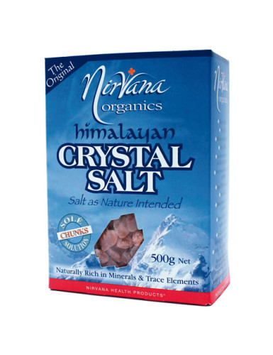 Crystal CHUNKS for making Sole© (so-lay) salt solution, 500g