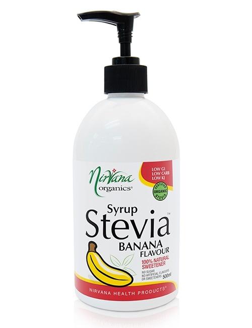 Banana Stevia Syrup