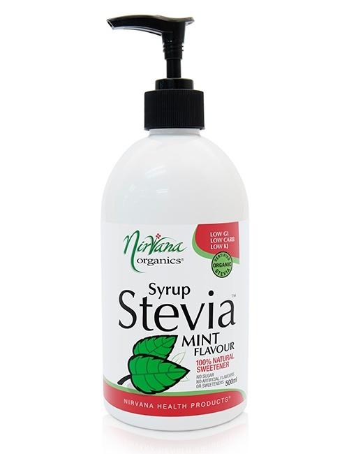 Mint Stevia Syrup