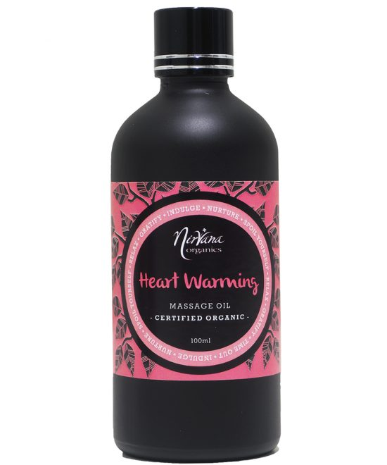 Aromatherapy Massage Oil - Heart Warming Blend