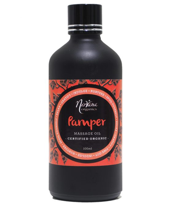 Aromatherapy Massage Oil - Pamper Blend