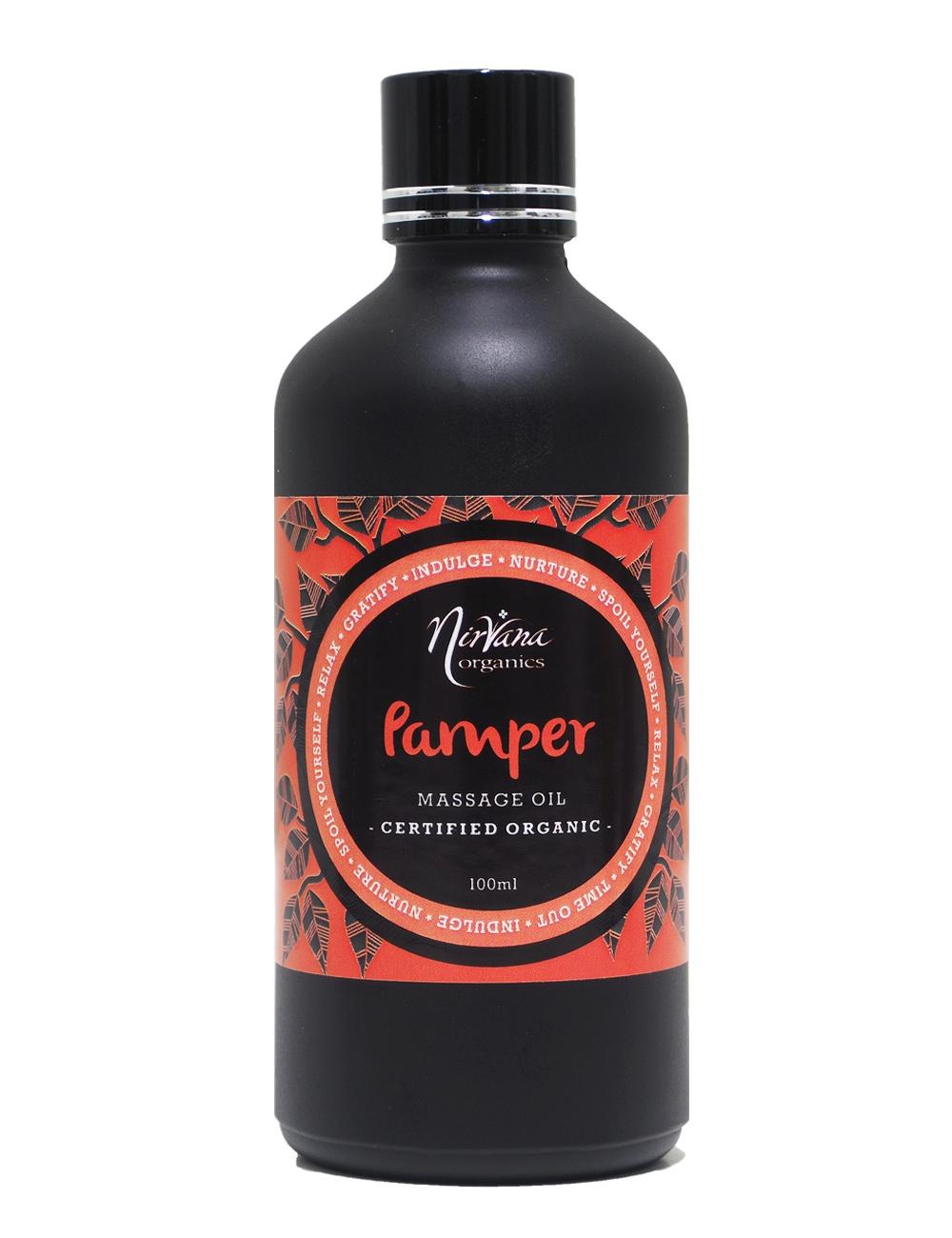 Aromatherapy Massage Oil - Pamper Blend