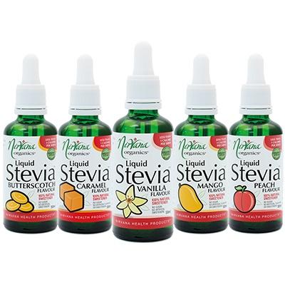 Liquid Stevia Flavours