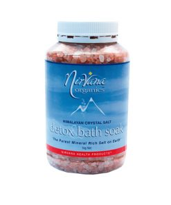 Crystal Salt Bath Detox